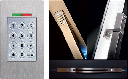 Door Security Opening Systems BioKey Keyboard
