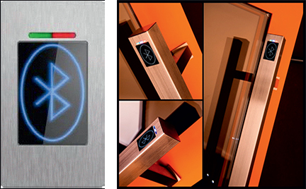 Door Security Opening Systems BioKey Bluetooth