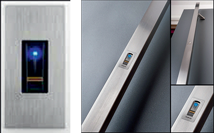 Door Security Opening Systems Fingerprint scanner